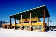 忠類スキー場ロッジ建設工事