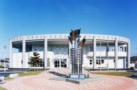 浦幌町立図書館・資材館新築主体工事